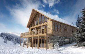 Ellicottville Investment Property. Ski chalet for short term rentals.