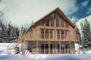 Ellicottville Real Estate. Ellicottville Ski Chalet for investment. Short term vacation rentals.