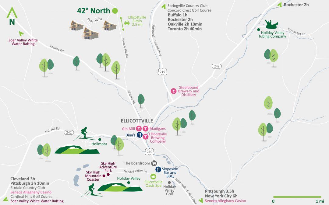 Ellicottville Activity Map