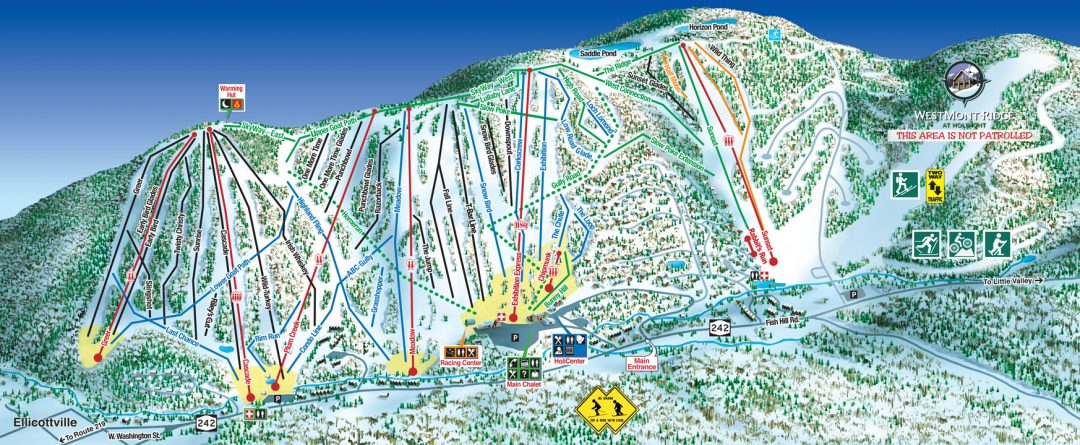 Ellicottville Skiing at Holimont